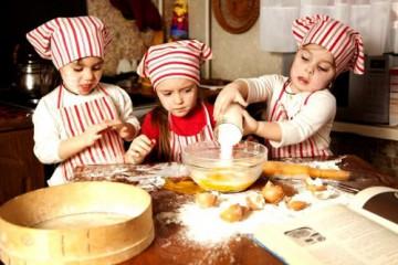 дети печеньки